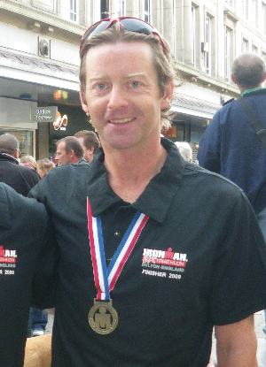 Mike Mason fresh as a daisy after IronMan UK 2009