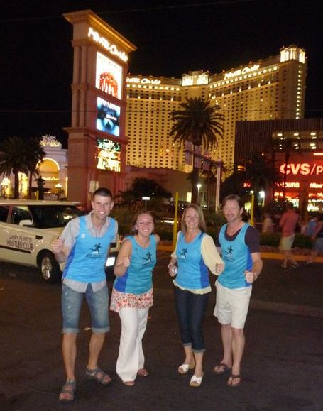 Striders in Las Vegas